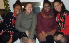 Students hold Secret Santa parties during the holiday season