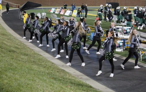 Pattonville Varsity Drill Team goes to first competition of the season
