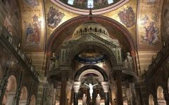 AP Art History class visits St. Louis Basilica