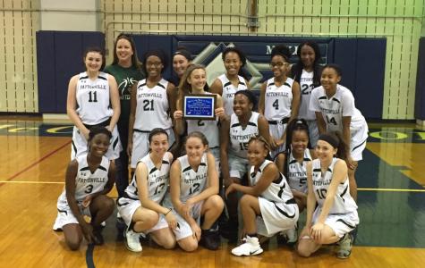 Girls' basketball team wins the 2017 McCluer North High School Freshman Tournament