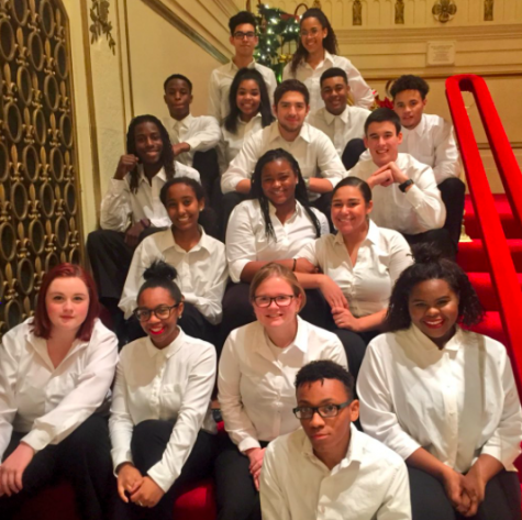 Chamber choir performs at Powell Symphony Hall