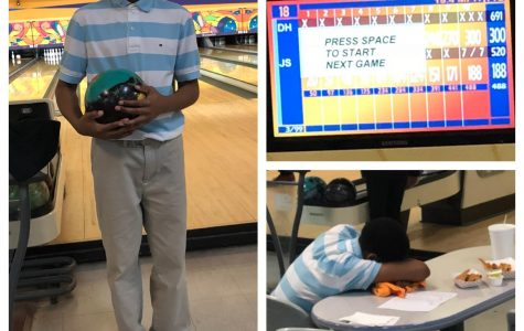 Freshman bowls a 300 game at tournament