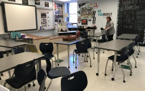 Teachers receive new classroom furniture