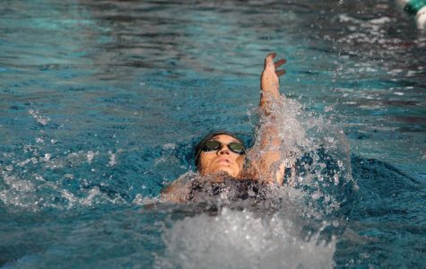 Boara breaks 23-year-old school swimming record