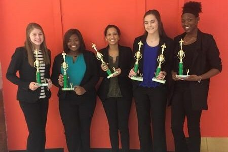 DECA students prepare for state competition