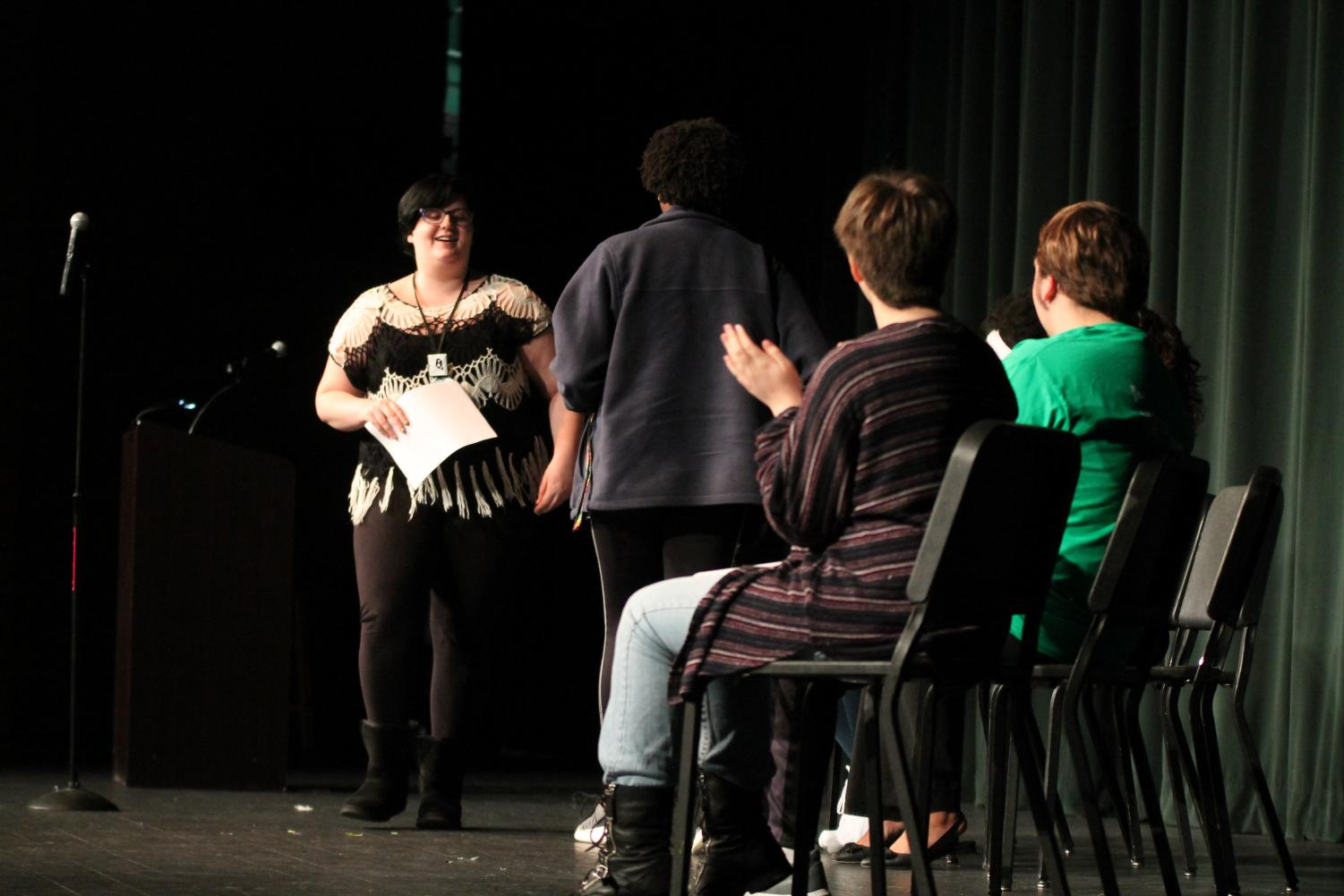 PHS Student Writers were featured during the 7th session of Writers Week on Monday.