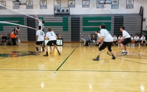 Boys' volleyball team trying out something new by making changes to the lineup