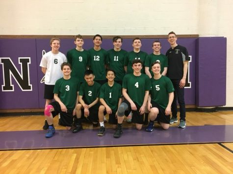 JV boys' volleyball finishes in 2nd at Parkway North tournament