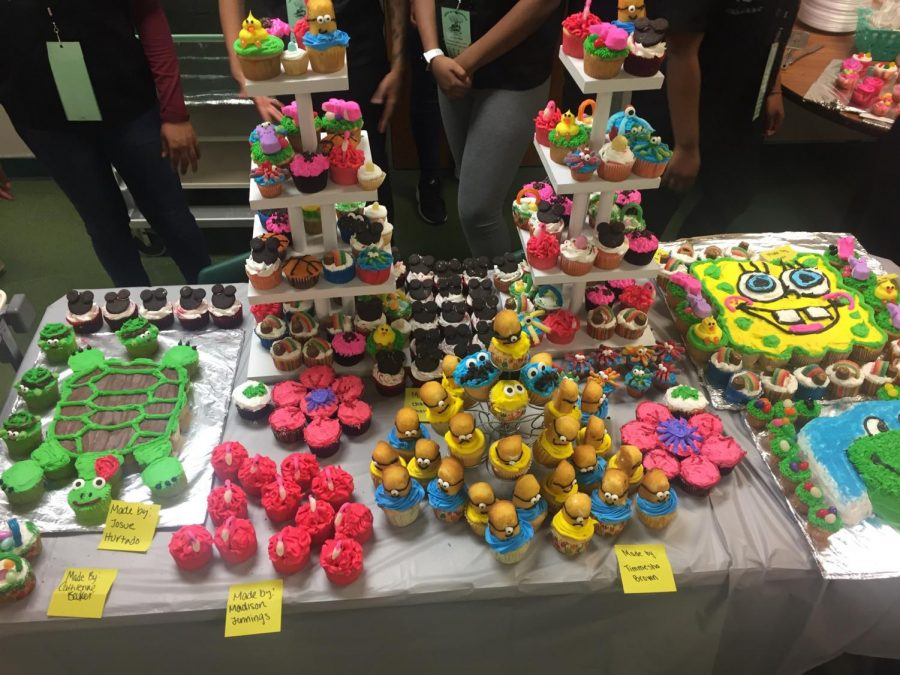 The+Pattonville+Culinary+Arts+students+created+desserts+for+the+Taste+of+Pattonville+event.+
