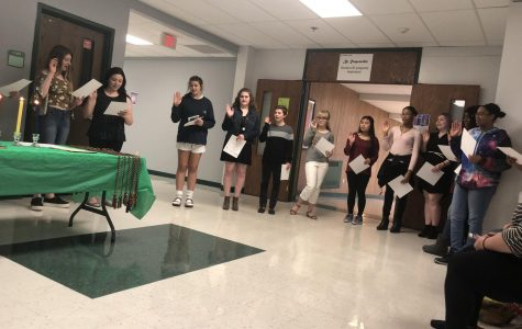 NAHS holds its induction ceremony