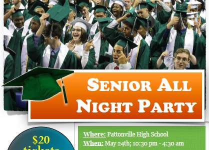 Fundraising for Senior All-Night Party continues