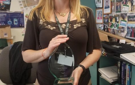Ms. Schwendemann wins District Teacher of the Year award