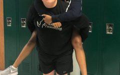 Louis Johnson and Kamilah Kirkwood celebrate their 13th Friendiversary during senior year