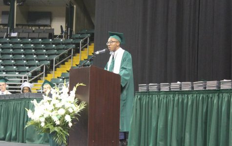 Two students selected to give graduation speeches