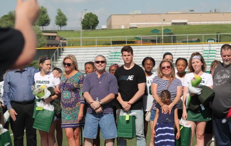 Pattonville lacrosse team wins on Senior Night