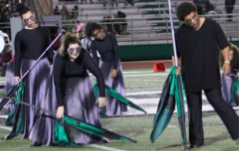 Color guard prepares for the new season