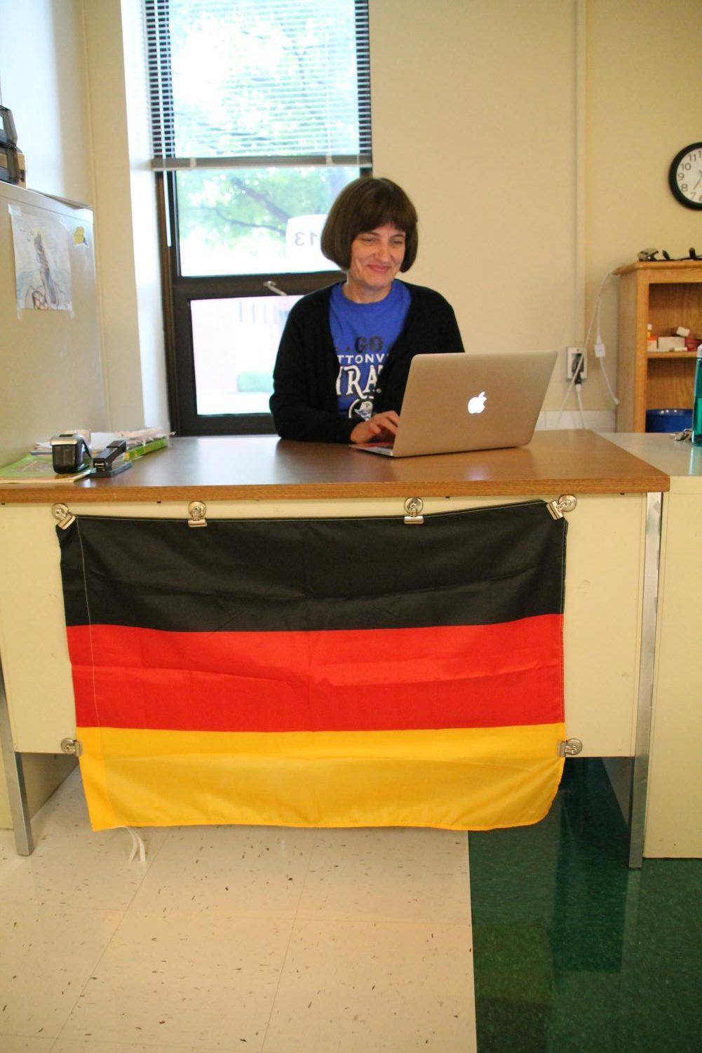 Ms. Claudia Miller joins the Modern Language Arts department as a new German teacher.