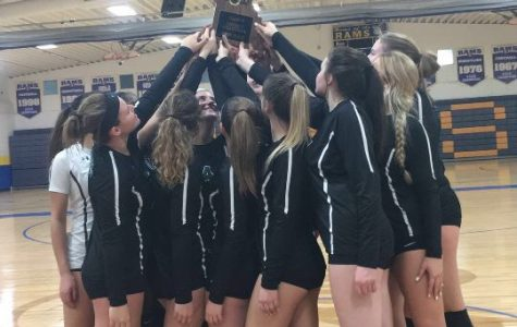 Volleyball wins first district title since 2006