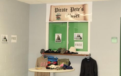 Pirate Pete's Closet offers students free clothing
