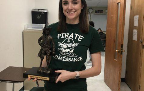 Giubardo is this week's Pirate Code Staff Winner
