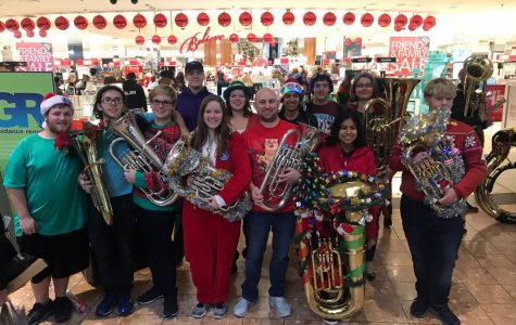 Students perform in annual TubaChristmas event