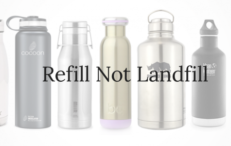 Lambros researches the benefits of reusable water bottles