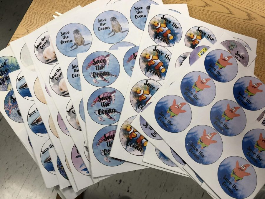 Examples+of+stickers+that+will+be+available+for+purchase+to+help+support+senior+Lucy+Bodde%27s+project.+