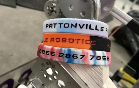 Pattonville Robotics is selling bracelets to raise funds
