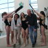 Senior swimmers honored during Senior Night