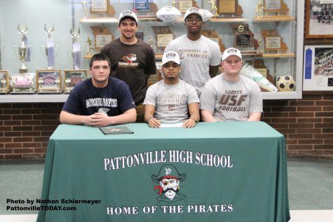 Five football players make commitments to college on National Signing Day