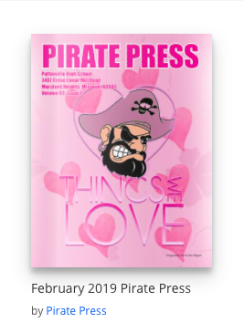 ISSUE February 2019 Pirate Press is now available