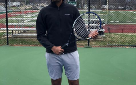 Sharma tries new sport senior year