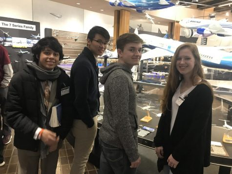 Students take field trip to The Boeing Company