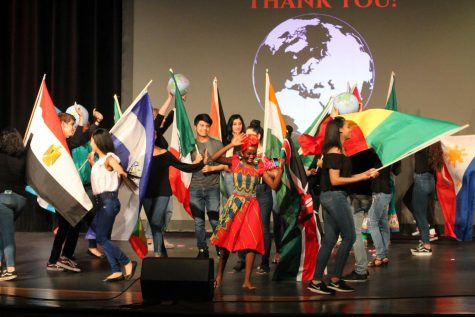 SLIDESHOW International Club Show presented to students