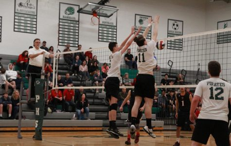 Boys' volleyball stays hot