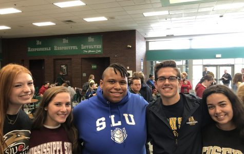 Seniors celebrate on National College Decision Day