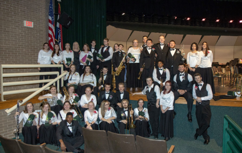 Seniors honored at last band concert