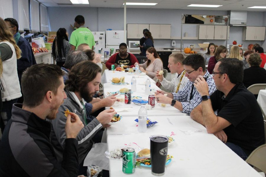 STUCO and Culinary Arts Team Up for Appreciation Lunch