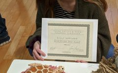 Lillian Lofland (11) Places 2nd in Sculpture