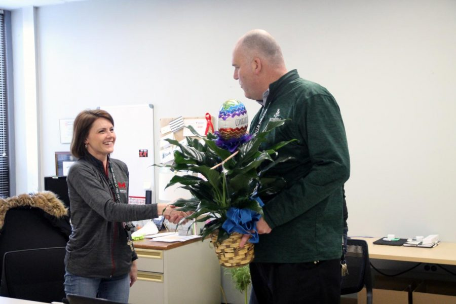 Ms. Hasheider Makes Pattonville's Teacher of the Year Finalists