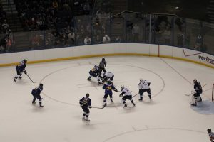The St. Louis Blues play a game at the Scottrade Cener. (file photo)