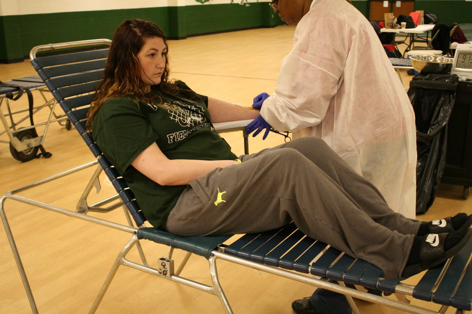 Pattonville%2C+NHS+donates+blood+to+the+Red+Cross