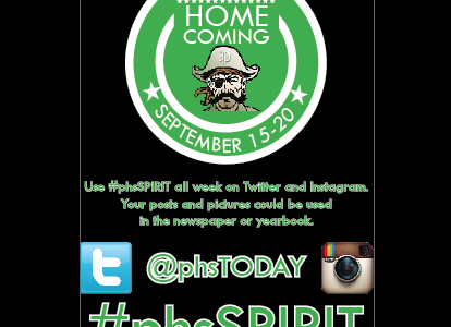 STORIFY #phsSPIRIT Week 2014 – Friday Class Color Day