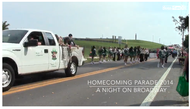 VIDEO+Watch+the+2014+Homecoming+Parade+in+60+seconds