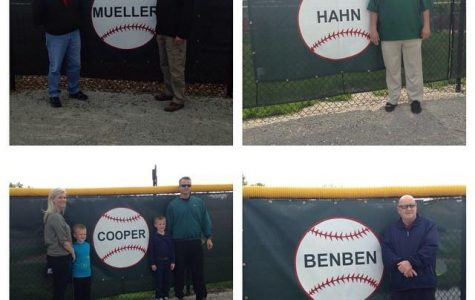 SLIDESHOW Pattonville baseball greats honored before game, Pirates fall 6-4