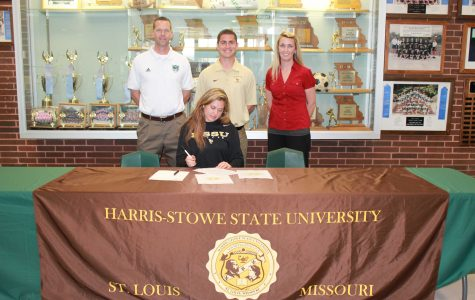 Kayla York signs to play soccer with Harris-Stowe