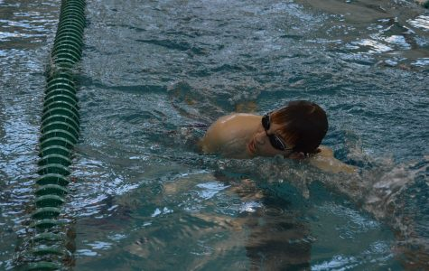 Swim dives into the season with a Green & White meet