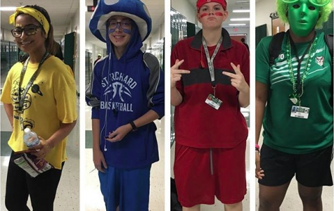 STORIFY Friday's #phsSPIRIT Class Color Day