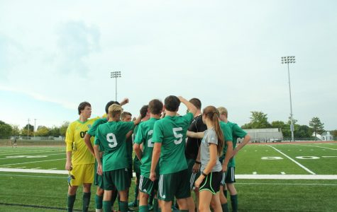 Varsity soccer comes back with a win over Lafayette