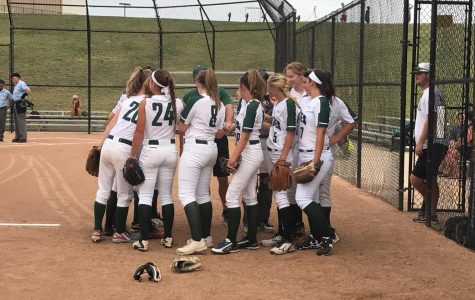 SLIDESHOW Varsity softball drops game 2-1 against Kirkwood